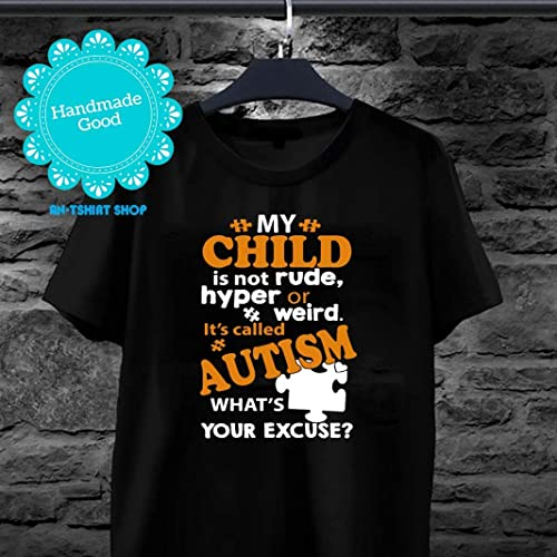 its rude to stare My sister has Autism Autism Carers Kids T-shirt
