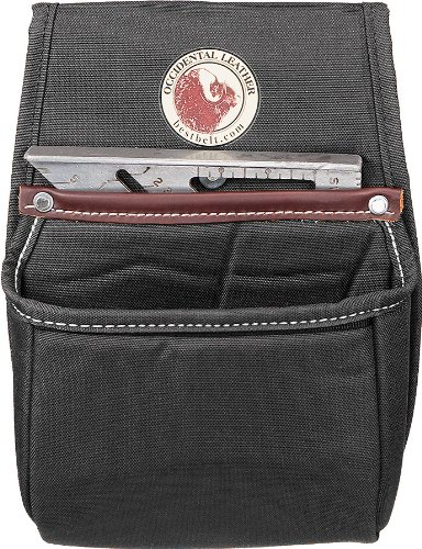 Occidental Leather 8384 Stronghold Rafter Square Universal Bag -Black