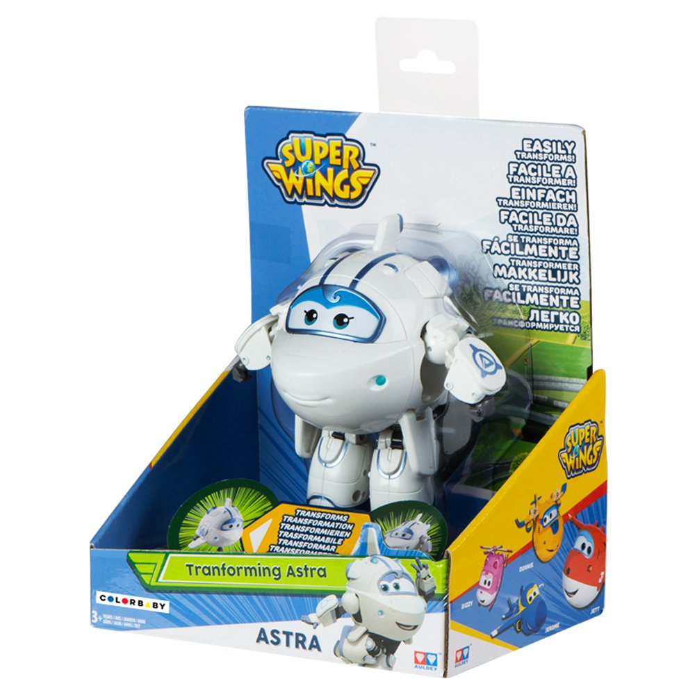 ColorBaby 85220 Astra figura transformable Super Wings 13 x 9 x 14 cm