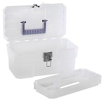 akro mils 09514cft 14 inch plastic art supply craft storage tool box