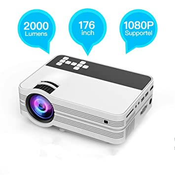 Mini Proyector de 4500 Lúmenes, Proyector Full HD LED ...