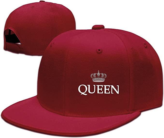 King and Queen Couple - Gorras de béisbol para mujer - Rojo ...