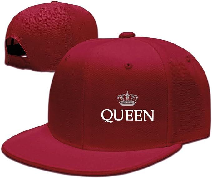 King and Queen Couple - Gorras de béisbol para mujer - Rojo ...