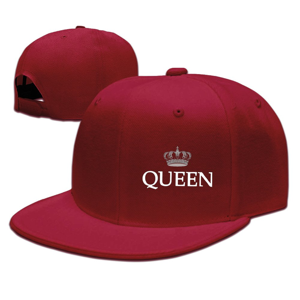 King and Queen Couple - Gorras de béisbol para mujer - Rojo - Talla única: Amazon.es: Ropa y accesorios