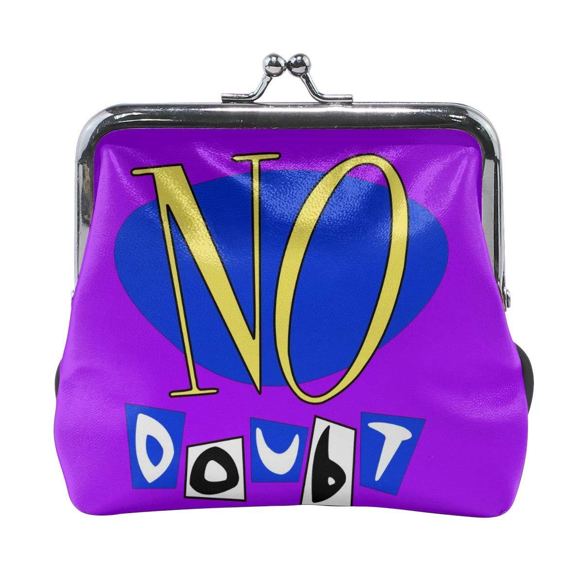 No Doubt Coin Purse Pouch Kiss-lock Change Purse Wallets