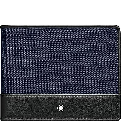 Montblanc NightFlight Men's Leather Wallet 6cc 116832