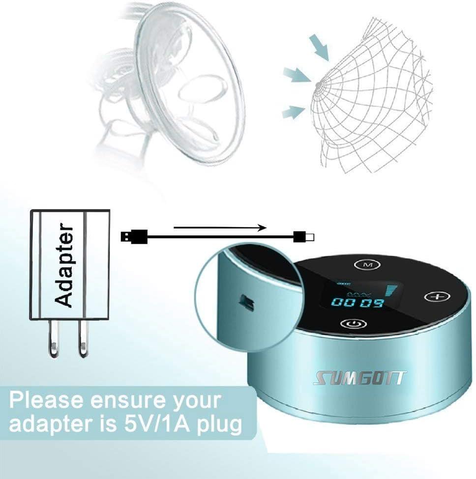 SUMGOTT Tire lait Electrique,Rechargeable Portable tire-lait avec /écran tactile intelligent LCD