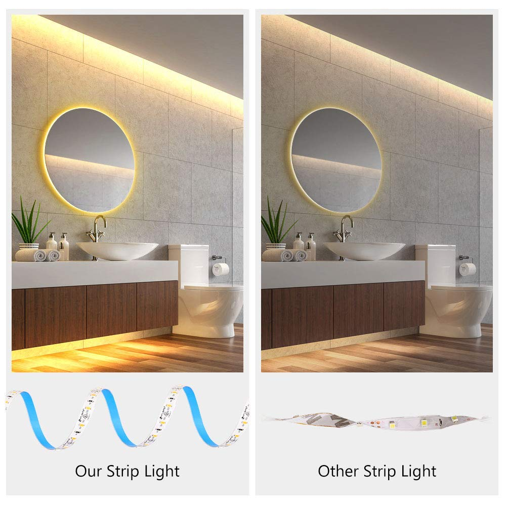UL Dimmable LED Light Strip 25W Dimmer HitLights Dimmable LED Driver with 3000k Warm White LED Light Strip