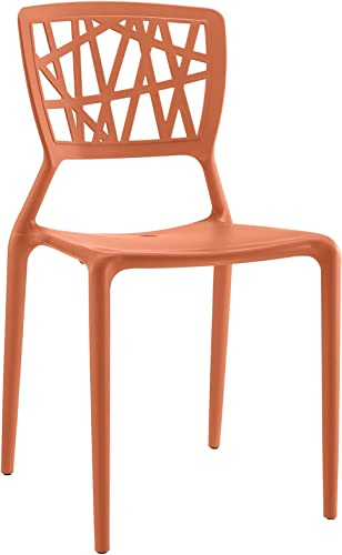Modway Astro Stacking Accent Kitchen and Dining Room Chair
