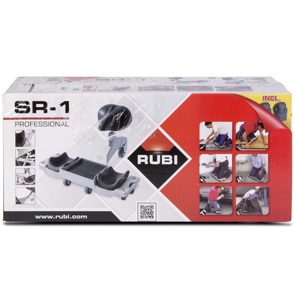 Rubi 81999 Asiento ergonómico SR-1, Negro