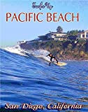 "11""x14""Travel Poster printed on real CANVAS.San Diego California.Pacific Beach.Surfing.Surf.7488"