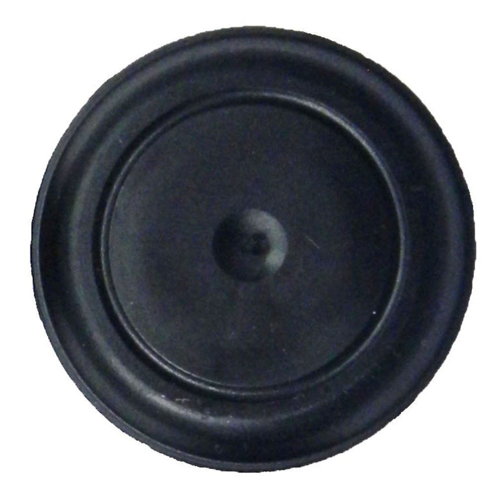 (Pack of 25) 1'' - (1 inch) Black Rubber Plugs || for Flush Mount Body and Sheet Metal Holes. Fits 1'' Hole - Ergonomic Button Plugs with Flush-Type Heads || Made in USA