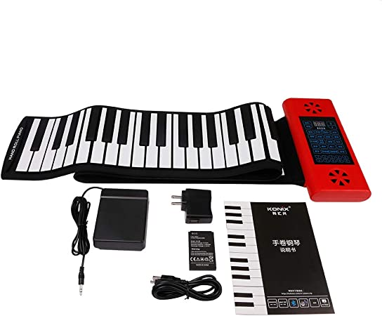 ZHHAOXINPA Hand Roll Piano, Plegable 88 Teclas Instrumento de ...