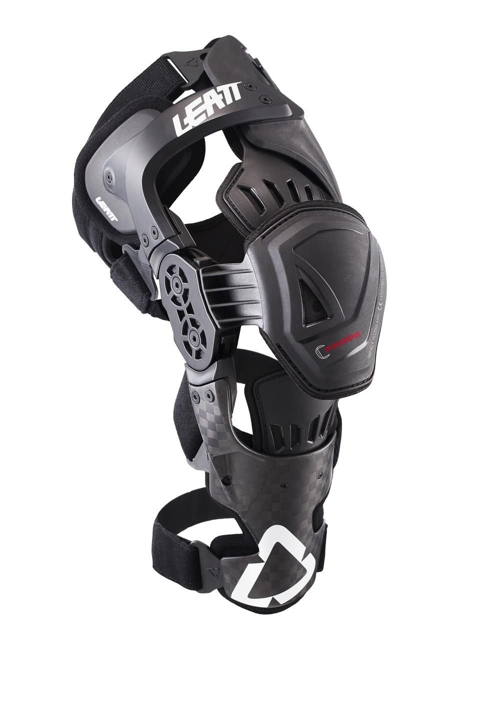 Leatt C-Frame Pro Carbon MX ATV Offroad Knee Braces - Left and Right 2XL 58-64 CM