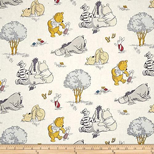 PreCut 1 Yard - Winnie The Pooh Piglet & Eeyore