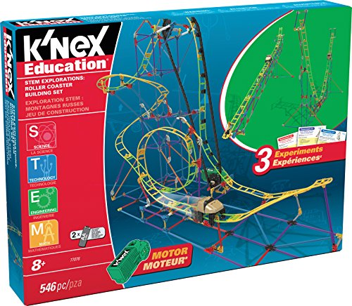 K'NEX Education ‒ STEM Explorations: Roller Coaster Building Set – 546 Pieces – Ages 8+ Construction Education -