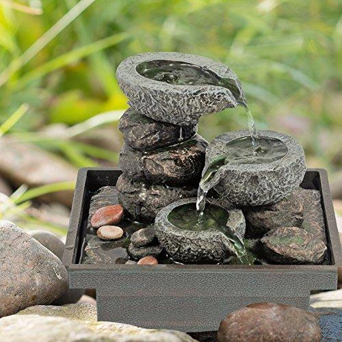 pajoma springbrunnen aus polyresin zimmerbrunnen. Black Bedroom Furniture Sets. Home Design Ideas