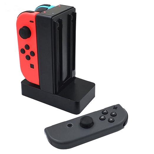 GOZAR Carga Estación Dock Cargador Soporte para Nintendo ...
