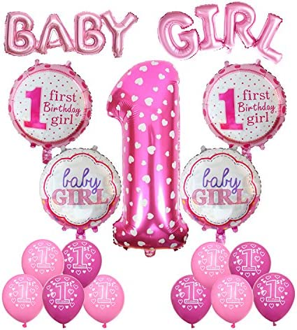 Boys Girls Foil Balloons Birthday Party Inflatable Helium Baby Shower Gift  HGUK