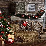 GladsBuy Lovely Stockings 10' x 10' Digital Printed Photography Backdrop Christmas Theme Background YHA-515