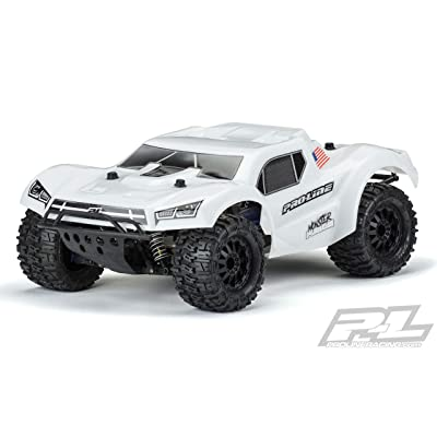 Pro-line Racing Pre-Cut MT Fusion Bash Armor, White, with 2.8 MT Tire: Slash 2/4WD, PRO349815: Toys & Games
