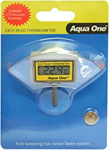 Aquarium Easy Read Thermometer 10297 Fish Tank Aqua One
