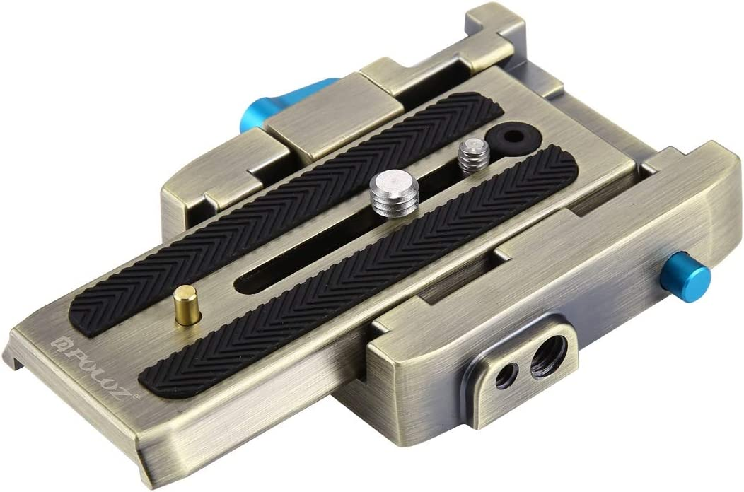 Quick Release Plate for DSLR /& SLR Cameras Color : Gold Black MEETBM ZIMO,Quick Release Clamp Adapter