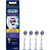 Oral-B Pro White Diş Fırçası Yedek Başlığı, 4 Adet