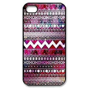 Brand New Aztec Chevron Custom Hard Back Cover Case for iPhone 4,4S