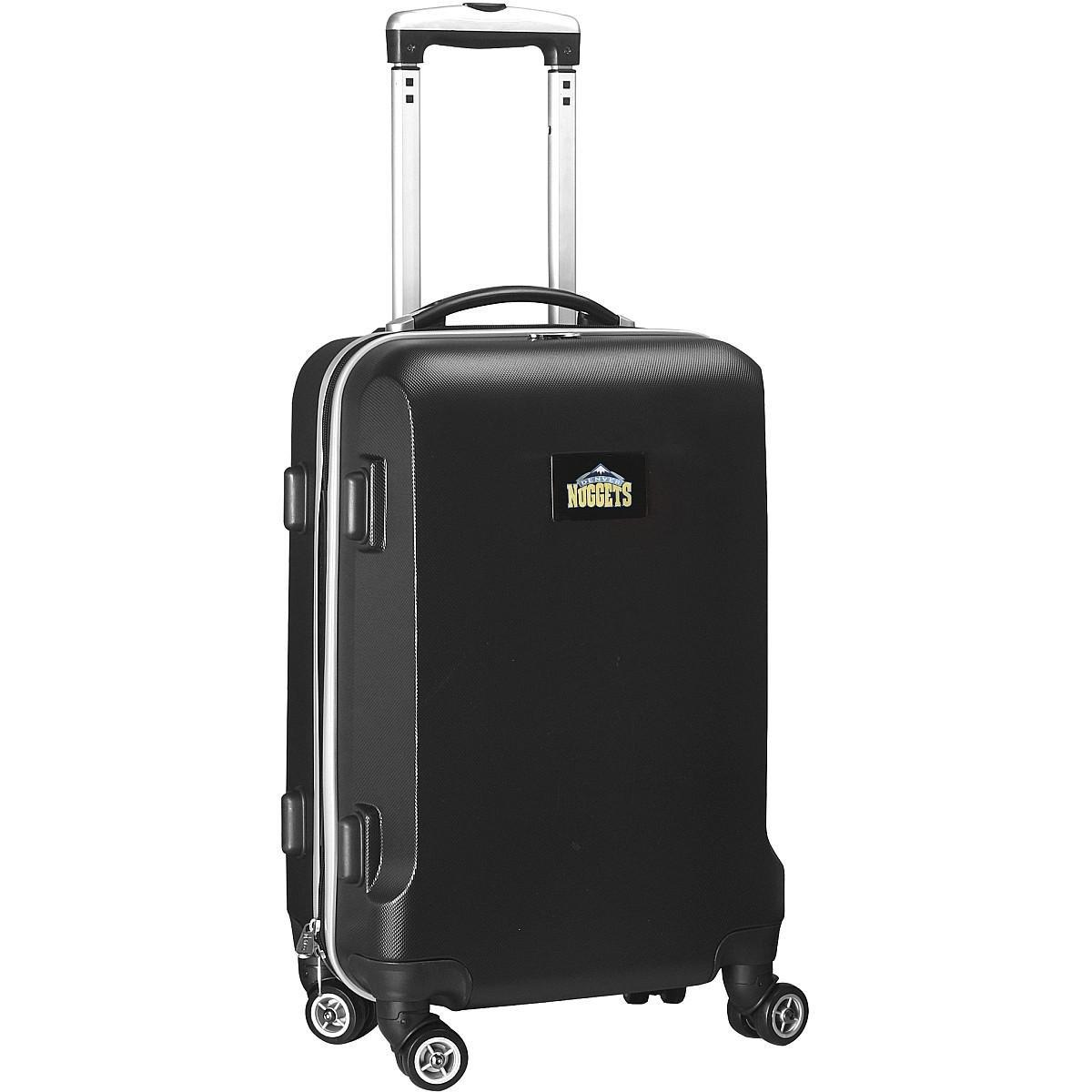 NBA Denver Nuggets Carry-On Hardcase Luggage Spinner, Black