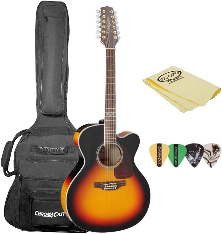 TAKAMINE gj72ce-12 bsb-kit-1 Jumbo Cutaway Guitarra ...