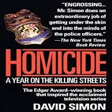 Homicide: A Year on the Killing Streets Audiobook by David Simon Narrated by Reed Diamond