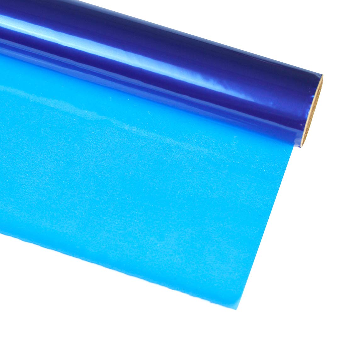 Hygloss Products, Inc Blue 40 in. x 100 ft Cellophane Gift Wrap Roll, inches x 100-feet