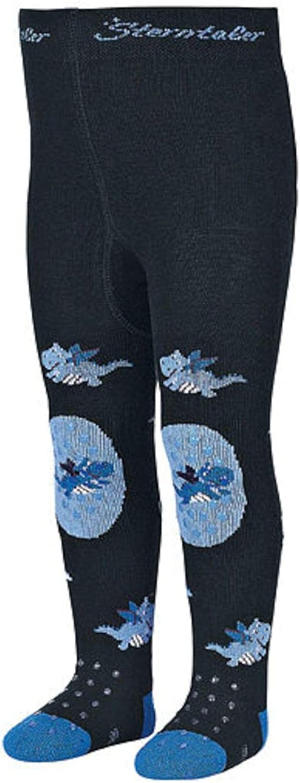 Sterntaler Strumpfhose marineblau Motiv Drache 8651903 Baby Jungen Krabbelstrumpfhose