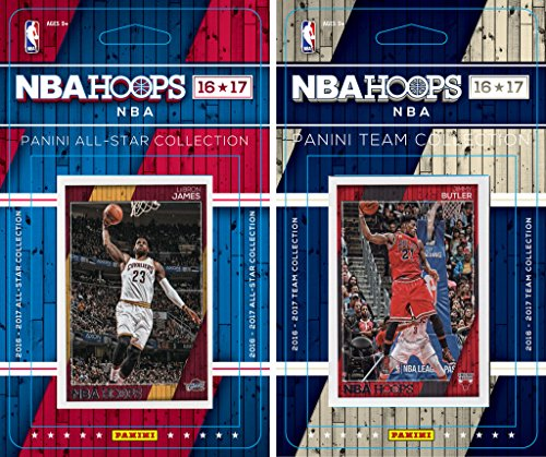 Dwayne Wade Hoops - C&I Collectables NBA Chicago Bulls Men's Licensed 2016-17 Hoops Team Plus All-Star Set, White
