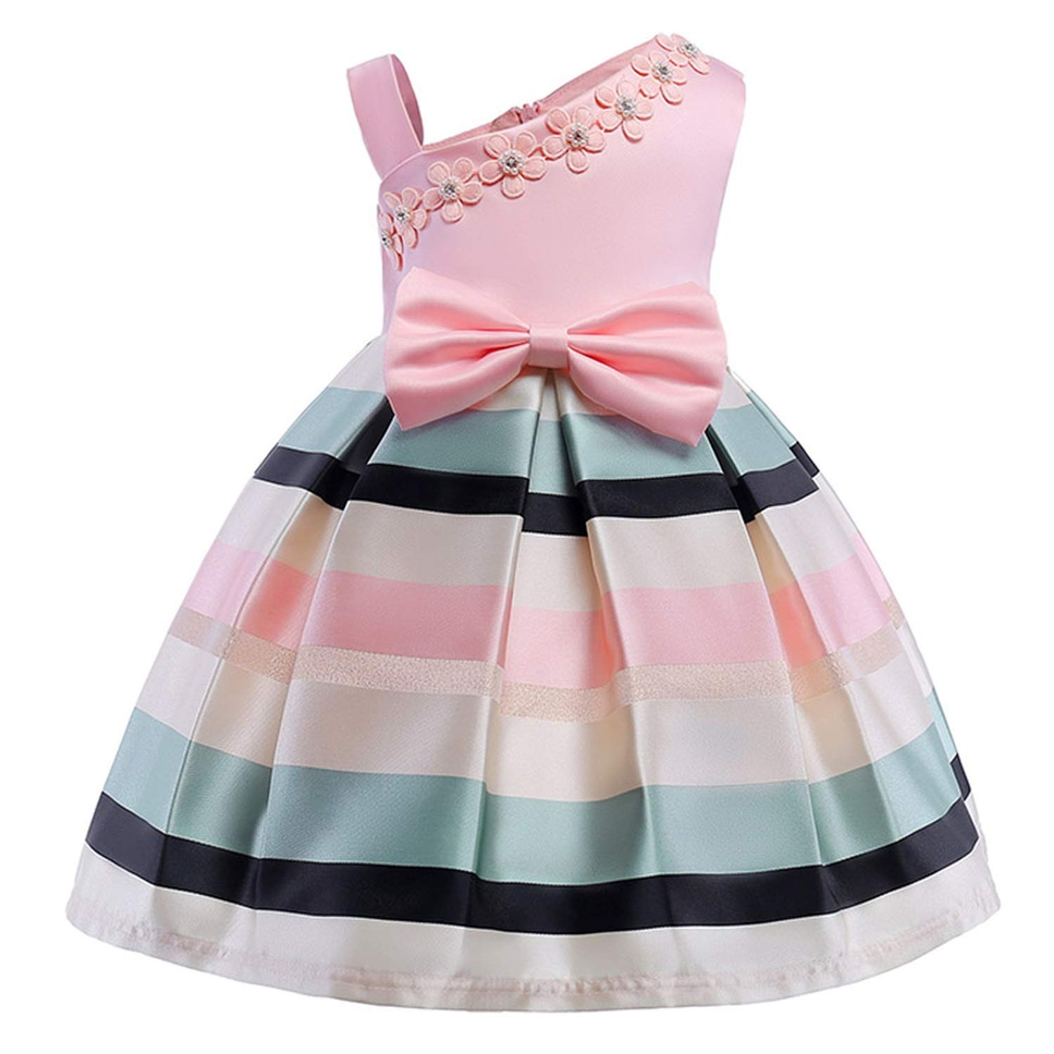 Girls Dress Summer Kids Dresses for Girl Princess Children Baby Tutu 2 3 4 5 6 7 8 9 10 Years,As Picture7,6