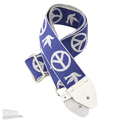 peace guitar strap Neil young