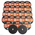 "25 KEEN ABRASIVES 3"" x 1/16"" AIR CUT-OFF WHEELS DISC METAL/STAINLESS CUTTING"