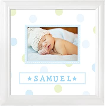 Amazon pearhead personalized name frame boy baby pearhead personalized name frame boy negle Images