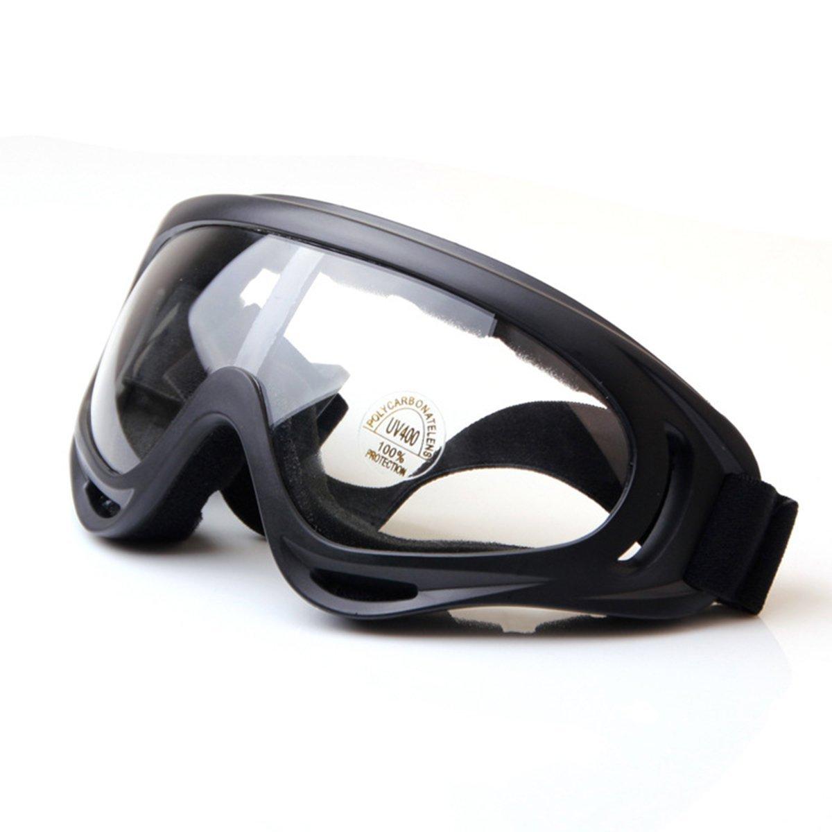 Gafas ajustables con lentes de policarbonato con protección UV. Opción de colores.