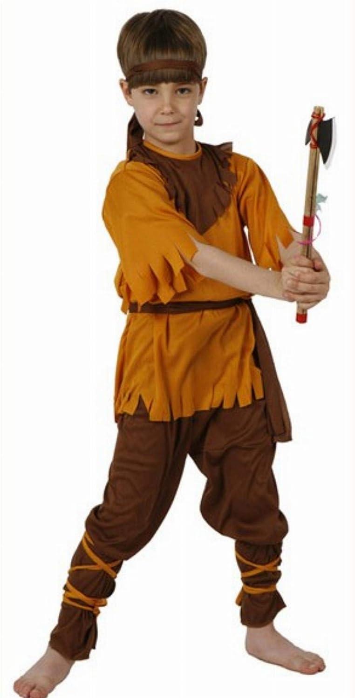 Desconocido Disfraz de indio para niño: Amazon.es: Juguetes y juegos