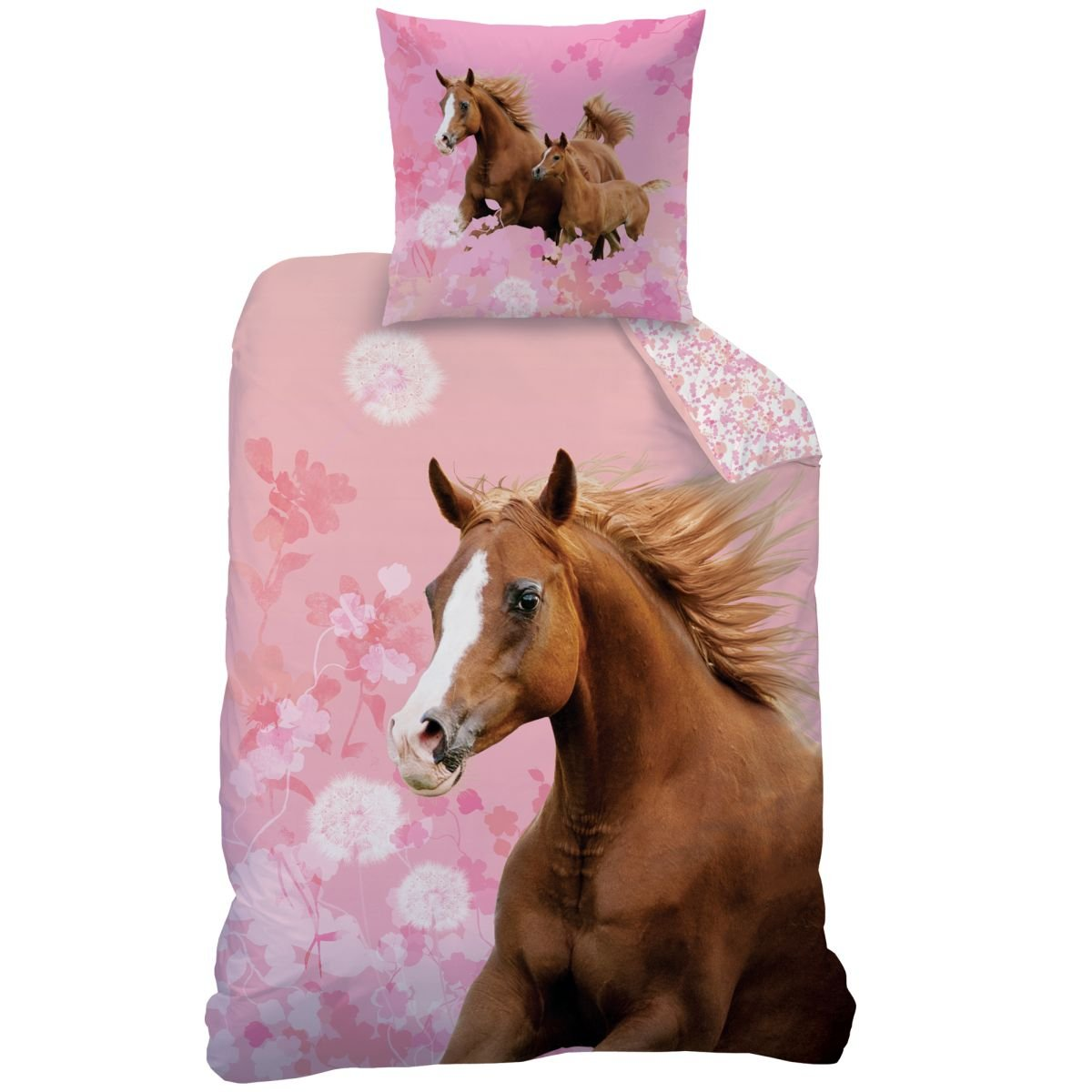 Dobnig 653479 Pferde Bettwasche Biber Bettwasche Aus 100