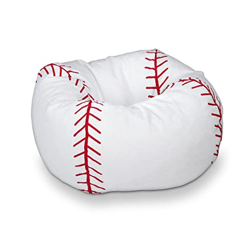 Sensational Baseball Bean Bag Chair 1 Ncnpc Chair Design For Home Ncnpcorg