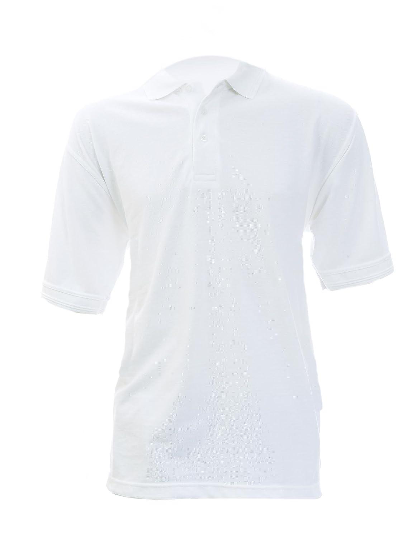 White Fastrack PS180 Shispar Large Polo Shirt