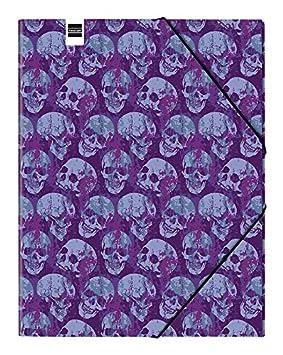 Finocam Prints - Carpeta clasificadora diseño Skulls