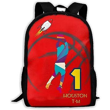 Houston Baloncesto 1 Mochila Personalizada Unisex para Adultos ...