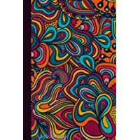Address Book: Multi Coloured Abstract Cover Design For Contacts, Addresses, Phone Numbers, Emails & Birthday. Alphabetical Organizer Journal Notebook Diary, Men, Women, Teens, Boys, Girls