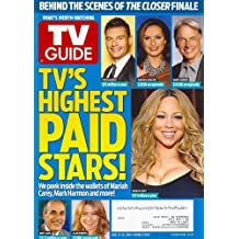 TV'S HIGHEST PAID TV STARS! Mariah Carey, Ryan Seacrest, Mariska Hargitay, Mark Harmon, Ellen Pompeo, Matt Lauer - August 13-26, 2012 Double Issue TV Guide Magazine