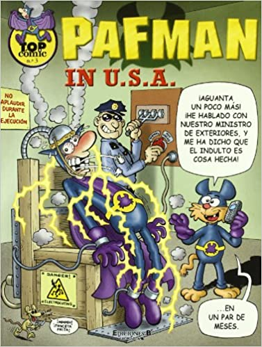 PAFMAN EN USA (TOP COMIC VARIOS)