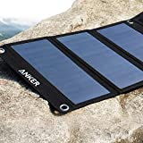Solar Panel, Anker 21W 2-Port USB Portable Solar